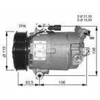 Kompresor klimatyzacji NRF 32472G