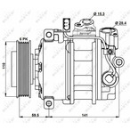 Kompresor klimatyzacji NRF 32883