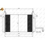 Chłodnica klimatyzacji - skraplacz NRF 35495