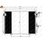 Chłodnica klimatyzacji - skraplacz NRF 35619