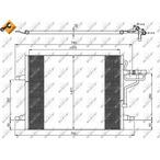 Chłodnica klimatyzacji - skraplacz NRF 35936