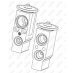 Zawór rozprężny klimatyzacji NRF 38374