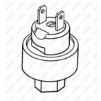 Przełącznik ciśnieniowy klimatyzacji NRF 38904