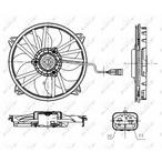 Wentylator chłodnicy silnika NRF 47665