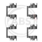 Zestaw akcesoriów klocków hamulcowych A.B.S. 1117Q