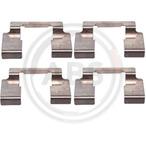 Zestaw akcesoriów klocków hamulcowych A.B.S. 1235Q