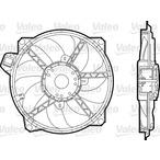 Wentylator chłodnicy silnika VALEO 696376