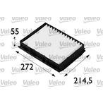 Filtr kabinowy VALEO 698160