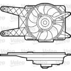 Wentylator chłodnicy silnika VALEO 698562