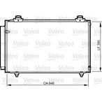 Chłodnica klimatyzacji - skraplacz VALEO 814212