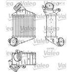 Chłodnica powietrza doładowującego - intercooler VALEO 817555