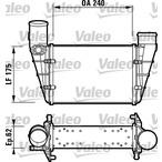 Chłodnica powietrza doładowującego - intercooler VALEO 817625