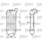 Chłodnica powietrza doładowującego - intercooler VALEO 817651