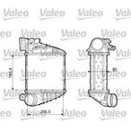 Chłodnica powietrza doładowującego - intercooler VALEO 817653