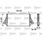 Chłodnica powietrza doładowującego - intercooler VALEO 817729