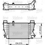 Chłodnica powietrza doładowującego - intercooler VALEO 818264