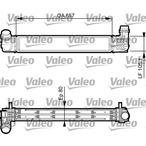 Chłodnica powietrza doładowującego - intercooler VALEO 818270
