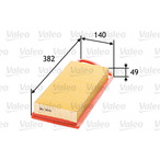 Filtr powietrza VALEO 585005