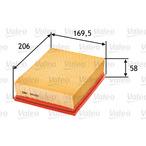 Filtr powietrza VALEO 585006