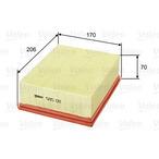 Filtr powietrza VALEO 585011