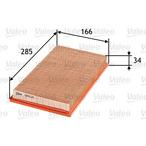 Filtr powietrza VALEO 585020