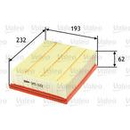 Filtr powietrza VALEO 585022