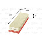 Filtr powietrza VALEO 585025
