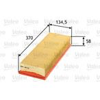 Filtr powietrza VALEO 585031