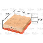 Filtr powietrza VALEO 585033