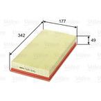 Filtr powietrza VALEO 585035