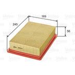 Filtr powietrza VALEO 585041