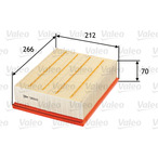 Filtr powietrza VALEO 585043