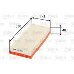 Filtr powietrza VALEO 585050