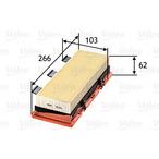 Filtr powietrza VALEO 585053