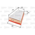 Filtr powietrza VALEO 585054