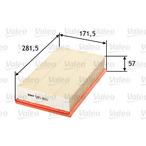 Filtr powietrza VALEO 585065