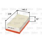 Filtr powietrza VALEO 585071