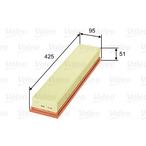Filtr powietrza VALEO 585080