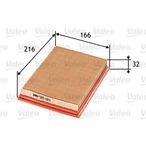 Filtr powietrza VALEO 585083