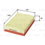Filtr powietrza VALEO 585090