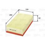 Filtr powietrza VALEO 585091