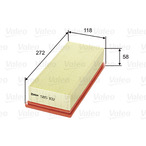 Filtr powietrza VALEO 585102
