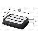 Filtr powietrza VALEO 585161