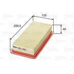 Filtr powietrza VALEO 585206