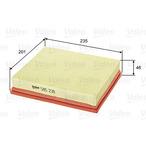 Filtr powietrza VALEO 585238