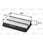 Filtr powietrza VALEO 585257
