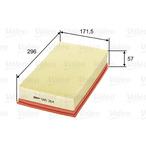 Filtr powietrza VALEO 585264