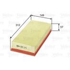 Filtr powietrza VALEO 585275