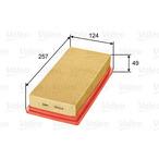 Filtr powietrza VALEO 585328