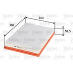 Filtr powietrza VALEO 585377